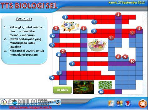 Buku Tts Huruf Teka Teki Silang Besar Buku Asah Otak Tts tts biologi sel dengan powerpoint guraruguraru