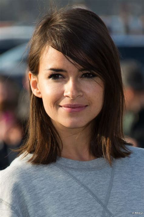 shoulder sweeping bob hair pics miroslava duma short hair with side swept bangs love