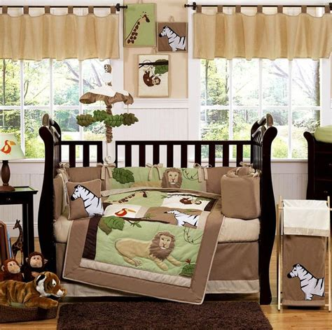 Jungle Cot Bedding Sets Jungle Adventure Jungle Crib Bedding Collection Cozybeddingsets