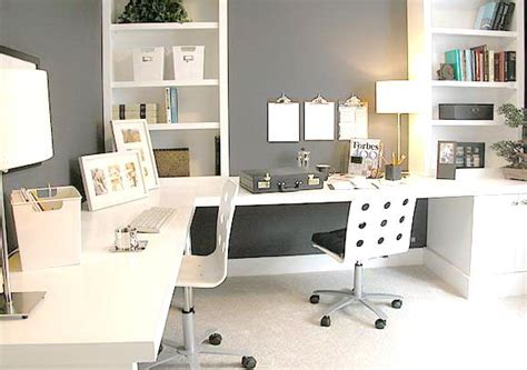 white home office white gray home office ideas