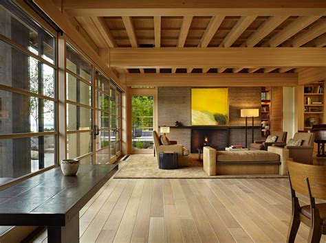 interior design architecture contemporary house in seattle with japanese influence
