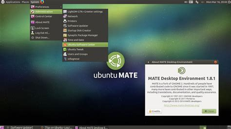 themes gnome mate ubuntu mate 14 04 2 available for download tips on ubuntu