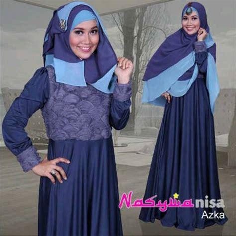 Gamis Terbaru Orang Tua Azka By Nasywa Abu Tua Baju Muslim Gamis Modern