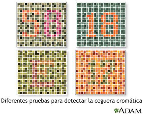 test discromatopsia pruebas para el daltonismo medlineplus enciclopedia