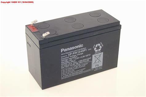 Baterai Panasonic 12v 7ah vabo panasonic lc ra127r2pg1 12v 7ah vds agm tab6 3mm