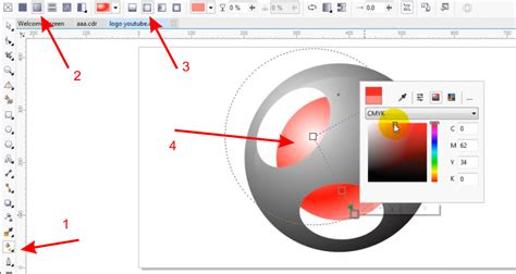 corel draw x4 vs x7 tutorial 10 minute make professional 3d logo using