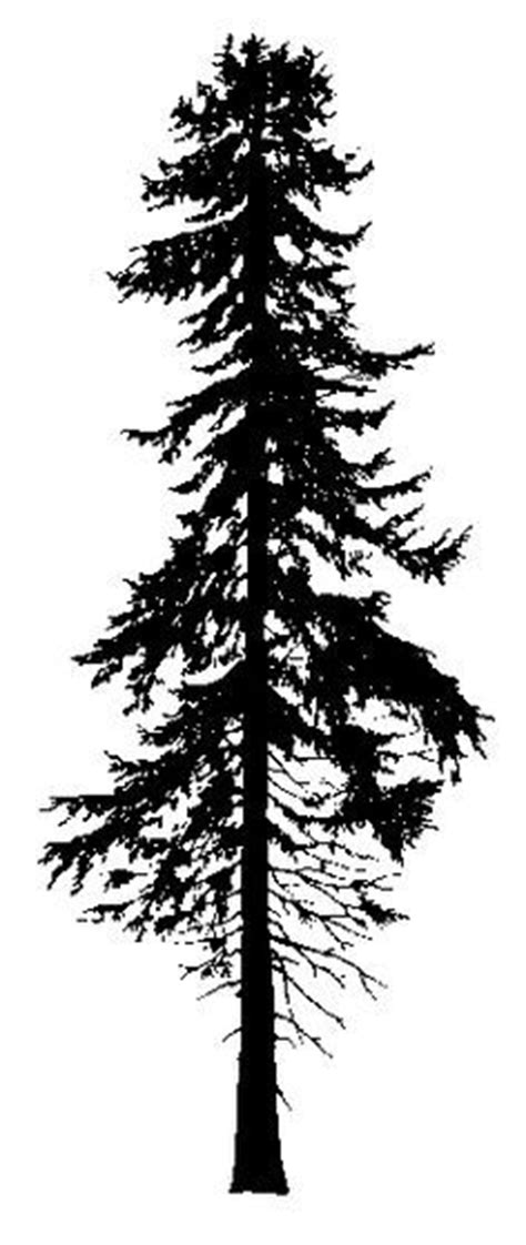 tree silhouette pine and silhouette on pinterest