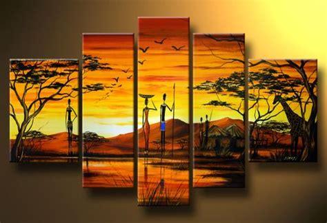 cuadros de paisajes abstractos pintura al oleo