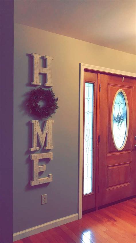 Wooden Letters Home Decor by Large Wooden Letters Home Decor Farmhouse Style