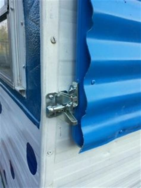 travel trailer front window cover teardrops n tiny travel trailers view topic 1956 calcraft