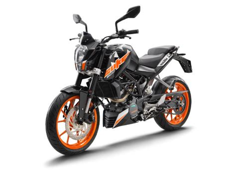 New Ktm 200 Ktm Duke 200 2017 Model Launched In India New Ktm 200