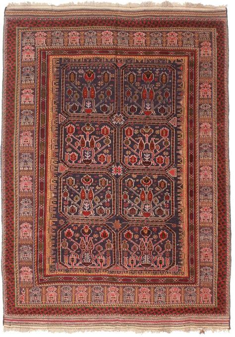 9 X 6 Area Rugs Vintage Soumak 6x9 Area Rug 10313 Afghan Woven Wool