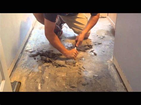 Removing Linoleum Flooring Glue From Concrete Floor