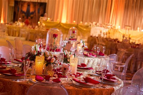 theme line beauty and the beast you have to see this ultimate beauty and the beast wedding