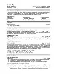 professional resume exles nursing quotes quotesgram
