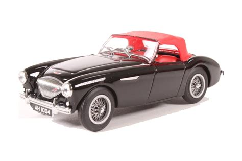 Diecast Healey 100 hattons co uk oxford diecast 43ah1004 healey 100 bn1 black red closed