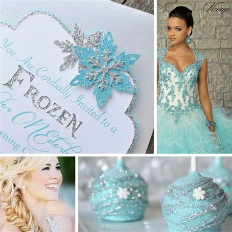 winter quinceanera decorations quince theme decorations quince themes frozen and
