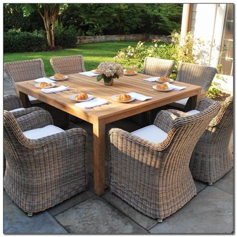 teak patio dining set 9 teak outdoor dining set costco june 2018