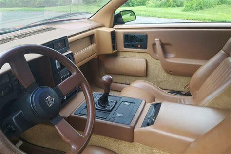 Pontiac Fiero Interior by 1988 Pontiac Fiero Gt 208956