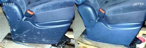 How To Repair Vinyl Car Interior by Fibrenew Leather Repair Plastic Vinyl Fabric Restoration