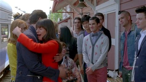 what episode is sectionals in glee season 3 lea michele and darren criss photos photos glee season 3