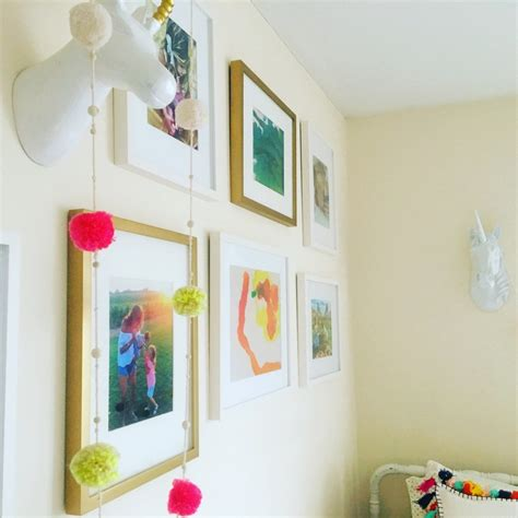 kids room wall how to create a great gallery wall in a kids room