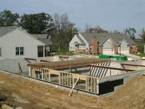 Basement Homes concrete basement construction information amp benefits to