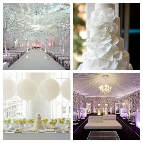 white themed events white wedding decorations romantic decoration
