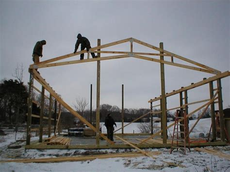 scissor trusses pole barn house plans roof trusses