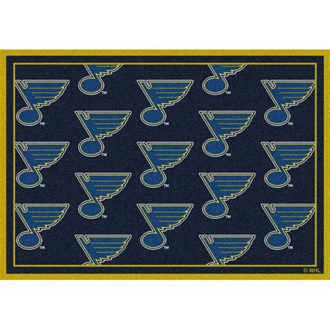 Rugs St Louis by St Louis Blues Area Rug Nhl Blues Area Rugs