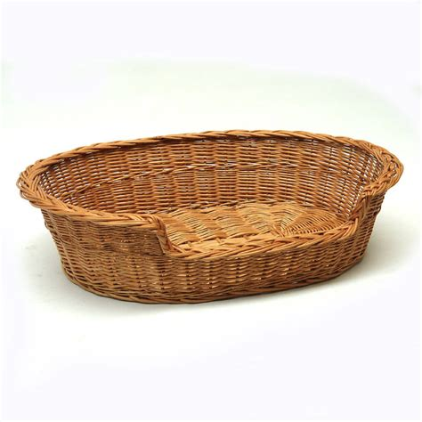 wicker dog bed wicker cat dog basket by prestige wicker