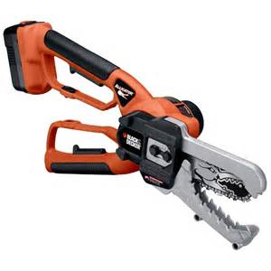 black and decker saw black decker alligator lopper cordless cling chain