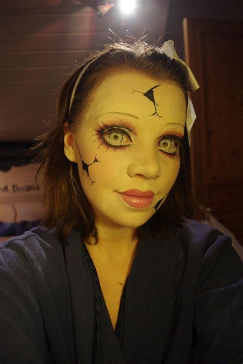 her a fabulously creepy 1780220022 25 best ideas about cracked doll makeup on fantasy makeup creepy doll halloween