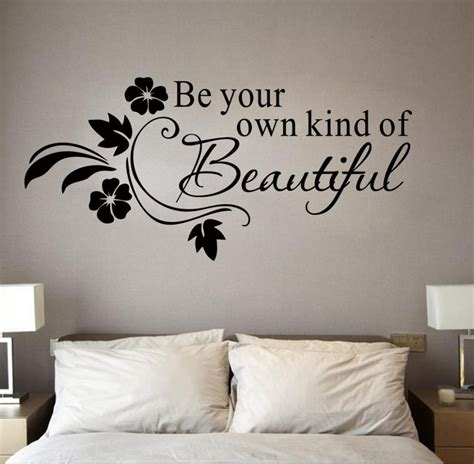 19 collection of be your own of beautiful wall
