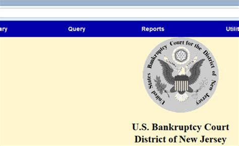 Access To Court Electronic Records Pacer System Accessing Audio Files From Pacer United States Bankruptcy Court District Of New Jersey