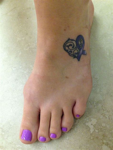 Epilepsy Ribbon Tattoos Pictures to Pin on Pinterest   TattoosKid