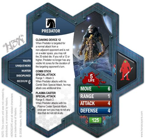 heroclix character card template custom units in my comic card template heroscapers