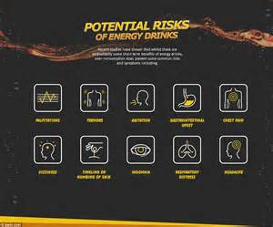 energy drink upset stomach new graphics reveal the real effects energy drinks on