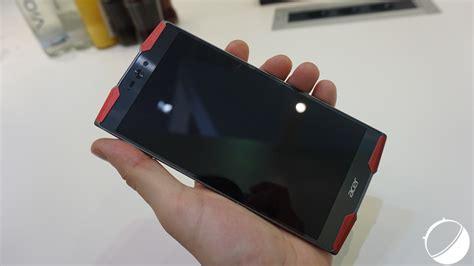 Handphone Acer Predator 6 acer predator 6 un premier aper 231 u d un 233 trange smartphone frandroid