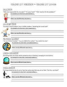 anger management worksheet music city counselor