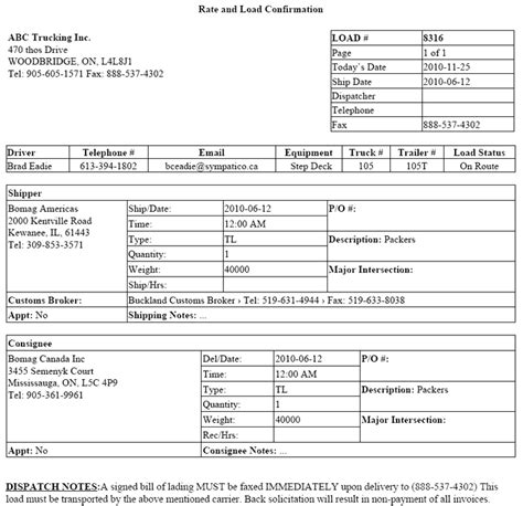 29 Images Of Trucker Rate Sheet Template Infovia Net Trucking Rate Sheet Template