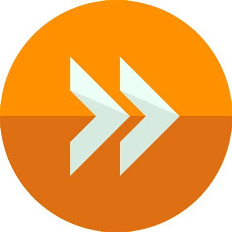 free forwarding fast forward free arrows icons
