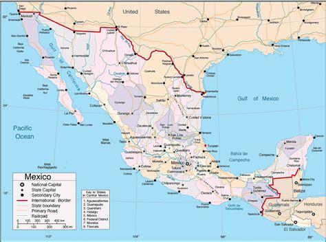la repblica y sus mapa pol 237 tico de m 233 xico por estados mapas pol 237 ticos atlas del mundo