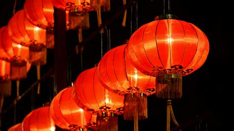 new year lantern carnival new year lantern stock footage getty images