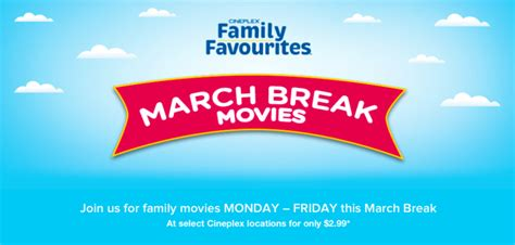 cineplex family favorites via rail is offering a fabulous 15 kids tix for travel in