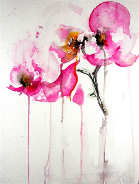 watercolor orchid tattoo karin johannesson contemporary watercolour orchids