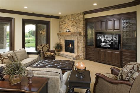 traditional family room ideas glorious electric fireplace entertainment center