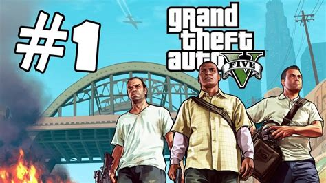 grand theft auto 5 gameplay walkthrough part 1 grand theft auto 5 part 1 walkthrough gameplay gta v lets