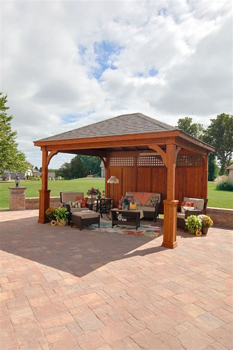 pavillon pergola pavilions pergolas and gazebos allgreen inc