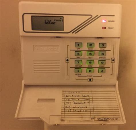 replacing ademco keypad doityourself community forums